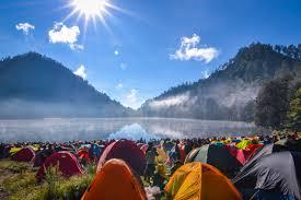 Camping le Point du Jour à Merville-Franceville-Plage
