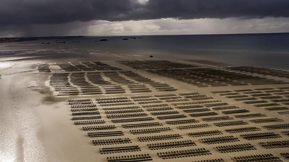 Les plages de débarquement en Normandie